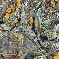 untitled (from the pollock series) by mike bidlo