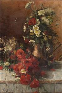 flowers by josefa greno