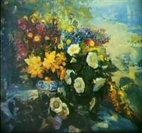 deux bouquets by vassili brataniuk