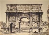 arco di costantino (+ tomba di cecilia metella; 2 works) by tommaso cuccioni