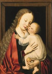 virgin and child by adriaen isenbrant