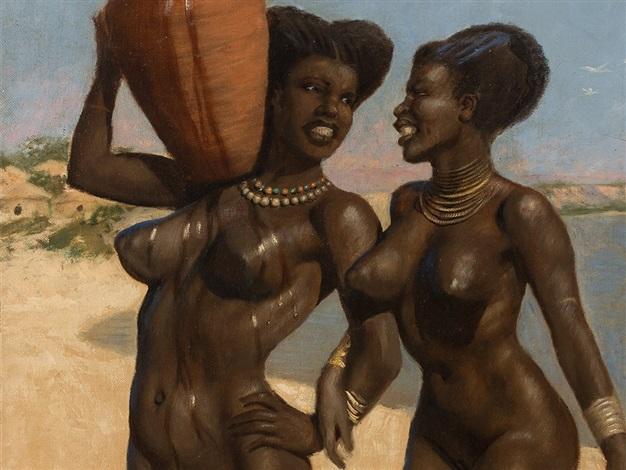 Frauen strand nackt