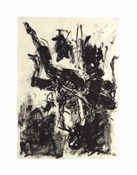sitzender akt (elk) by georg baselitz