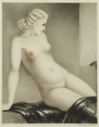 my model by louis icart