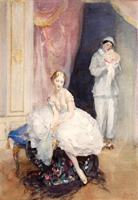 before the performance by walter ernest webster
