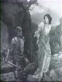 san jorge y el dragon by juan llimona