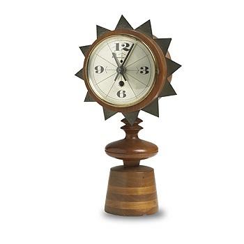 Chess Piece Table Clock, Model #2251 By George Nelson U0026 Associates