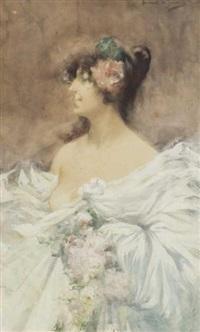 portrait d'une élégante by lucien victor guirand de scévola