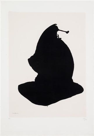 africa 10 from africa suite by robert motherwell