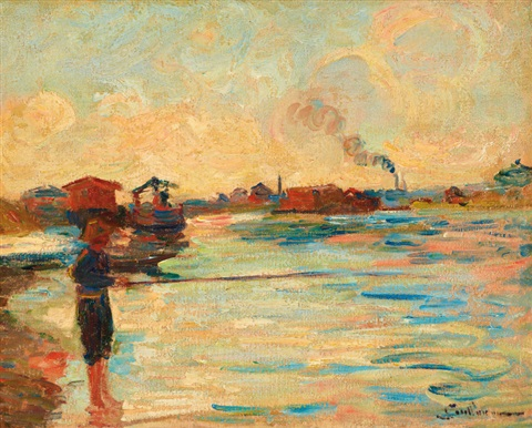 pêcheur by armand guillaumin