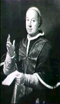 portrait du pape pie vi by pietro labruzzi