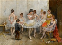 a lull in the ballet by maria (philips-weber) weber