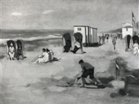 aan't strand by roeland koning