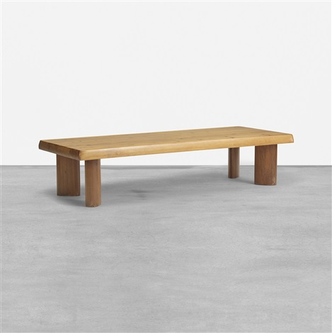 Special Order Coffee Table By Charlotte Perriand