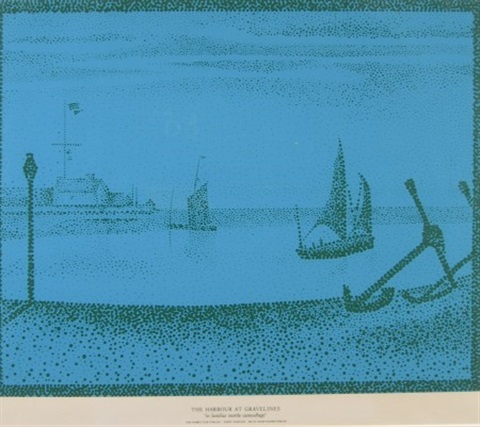 the harbour at gravelines by ian hamilton finlay