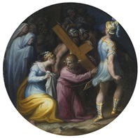 christ carrying the cross by giovanni battista di matteo naldini
