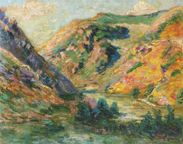les carolles vallée de la lude by armand guillaumin