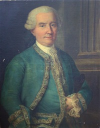 portrait d'homme by claude arnulphy
