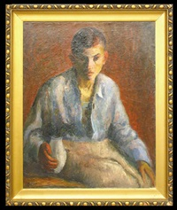 portret chłopca by natan korzen