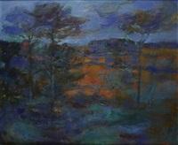 landscape, monymusk by robert henderson blyth