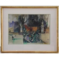 le jardin du luxembourg by camille hilaire