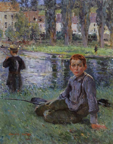 the young fisherman by jules adler