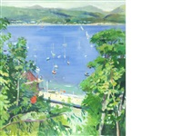 dunoon from the window by norman edgar