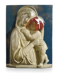madonna mit kind (della robbia) (madonna and child (della robbia)) by isa genzken