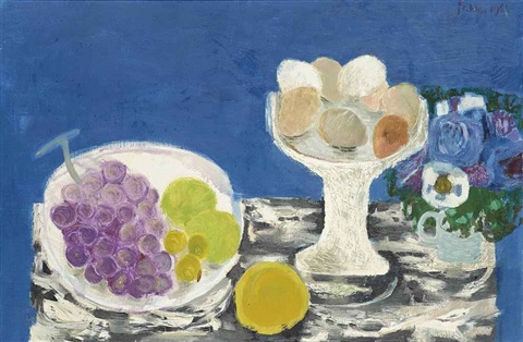 marble table by mary fedden
