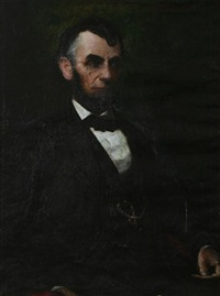 portrait of abraham lincoln by harold l. macdonald