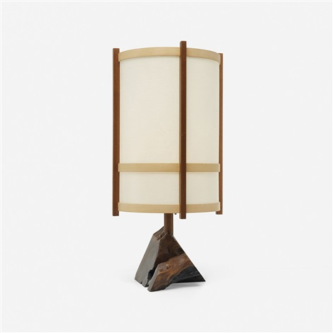 table lamp by george nakashima
