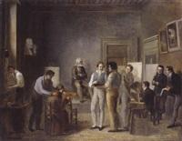 la classe de peinture des beaux-arts à l'école de lyon by jean marie jacomin