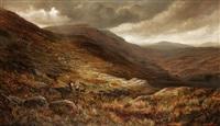 llyn cwm fynnon pen y gwryd, north wales by henry w. henley
