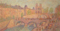 pont saint-michel by stan reszka