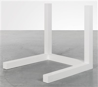 incomplete open cube five part variation no. 5 (5-5) by sol lewitt