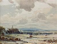 isle of oxbury, kent by alfred crocker leighton