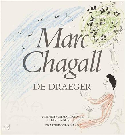 peintre sous un arbre by marc chagall