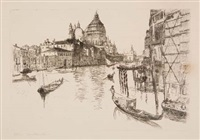 the grand canal, venice by otto henry bacher