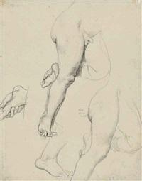 etude de jambes (study) by jean-auguste-dominique ingres