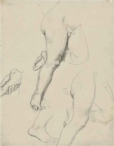 etude de jambes study by jean auguste dominique ingres