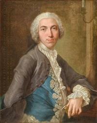 retrato de un gentil hombre by jacques andré joseph aved