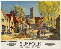 suffolk, kersey, british railways by jack merriott