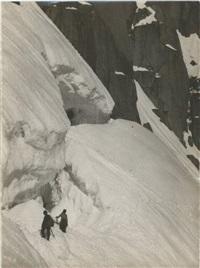 montagne, alpinisme, arêtes, kilomètre lancé (4 works) by marcel ichac