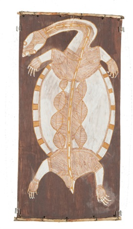 ngalmangiyi long necked turtle by lofty narbardayal nadjamerrek