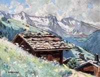 chalets en haute montagne by eugène bernhardt