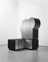 unique cabinet (in 3 parts) by guy de rougemont