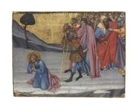 saints cosmas and damian awaiting decapitation by taddeo di bartolo