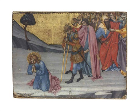 saints cosmas and damian awaiting decapitation by taddeo di bartolo