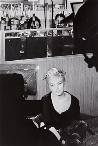 marilyn monroe in reno by henri cartier-bresson