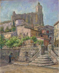 view of gerona by kalman kemeny